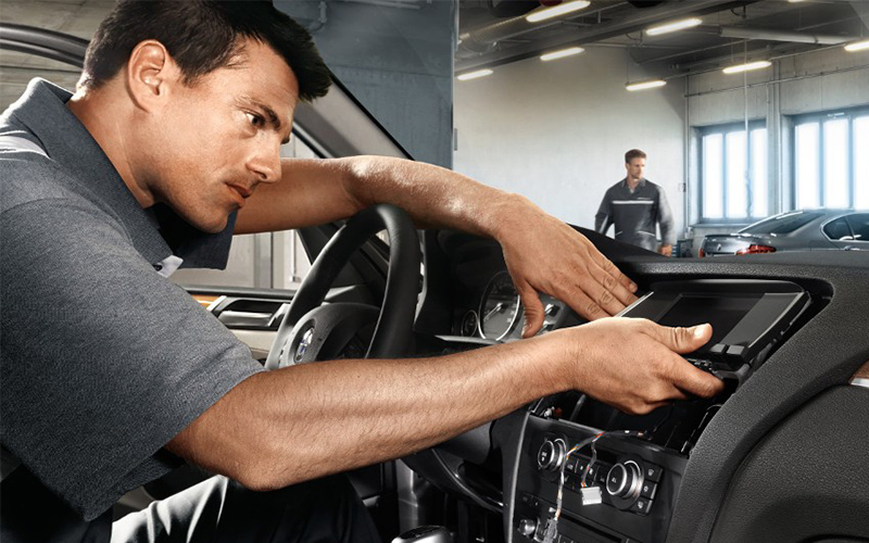 Electrical system repair-BMW