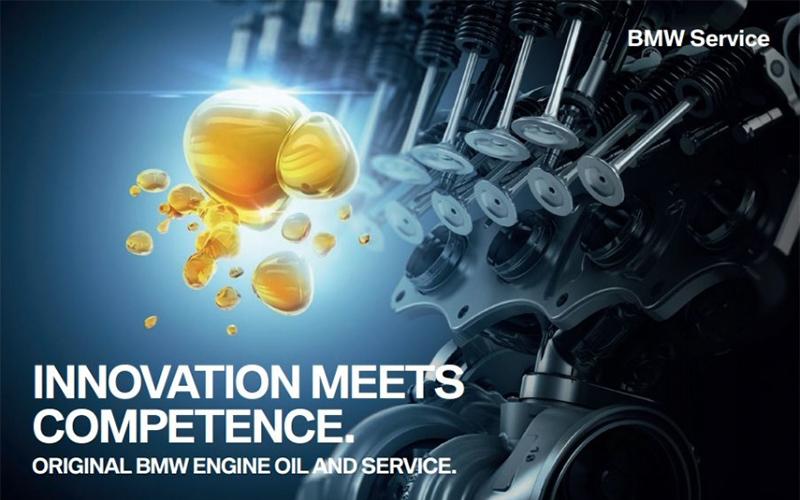 การเปลี่ยนถ่านน้ำมันเครื่องกับ BMW